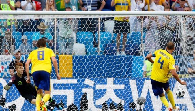 Сборная Швеции победила Южную Корею благодаря пенальти и видеоповтору