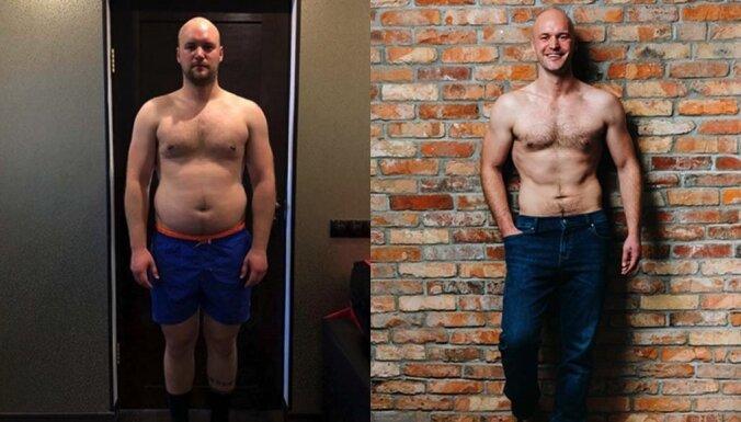7-дневный вызов (!!!) Янис из Кекавы раскрывает секрет того, как любой может достичь красивого тела легко и быстро!