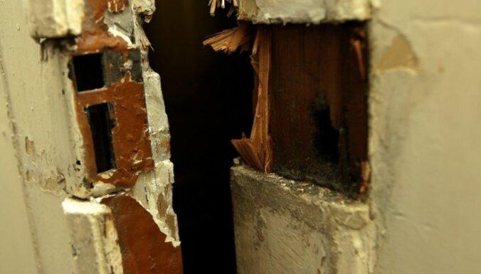 Пурвциемс: задержан подозреваемый в попытке квартирной кражи