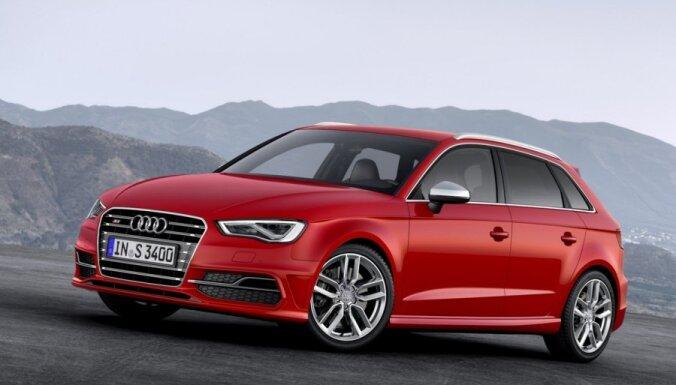 'Audi' atklājis 'S3 Sportback' ar 300 ZS