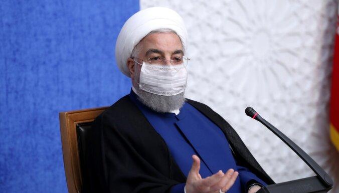 Irānas prezidents aicina Baidenu atgriezties pie kodollīguma