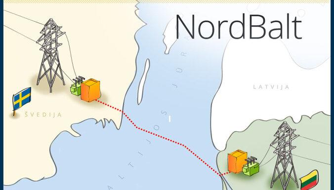 Завершается прокладка высоковольтного кабеля, соединяющего страны Балтии со Скандинавией