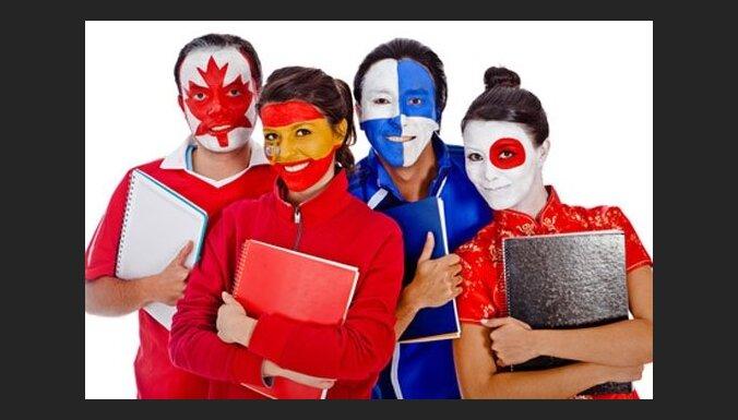Разговорный язык с преподавателями из Англии, Франции, Германии, Италии и Испании