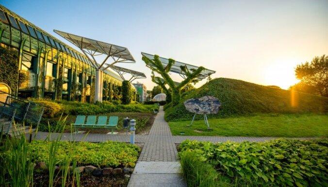 Pārsteidzošā Varšava: universitātes bibliotēkas milzīgais gaisa dārzs