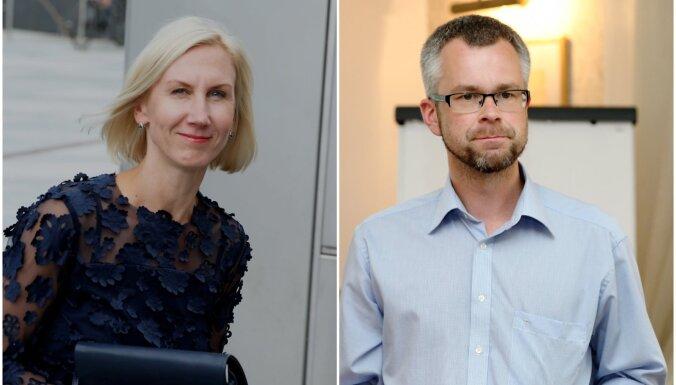 Apprecējušies TV žurnālisti Ilze Jaunalksne un Gundars Rēders