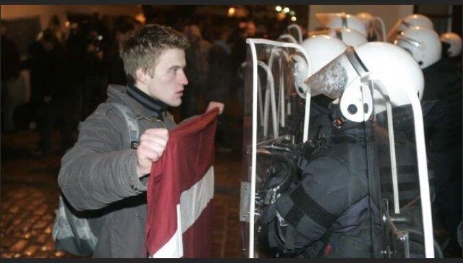 """""""Революция булыжников"""" в Риге: как это было"""