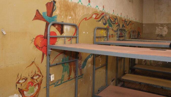ФОТО: В Риге закрывают тюрьму, в которой содержались особо опасные преступники
