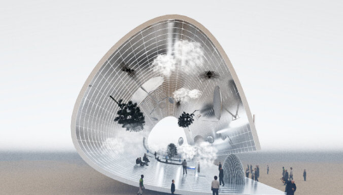 Волна с островками: как будет выглядеть павильон Латвии на Expo 2020 в Дубае