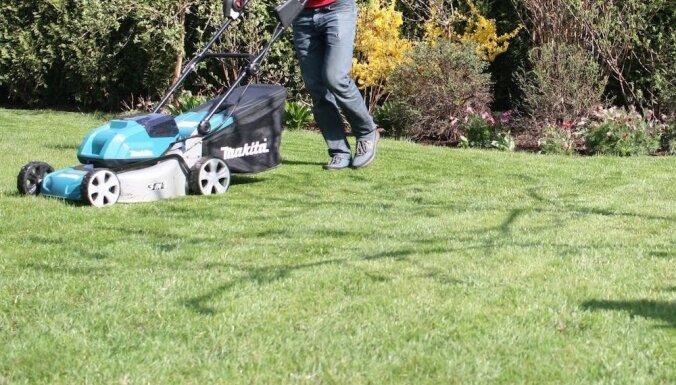 Можно ли тихо скосить траву?