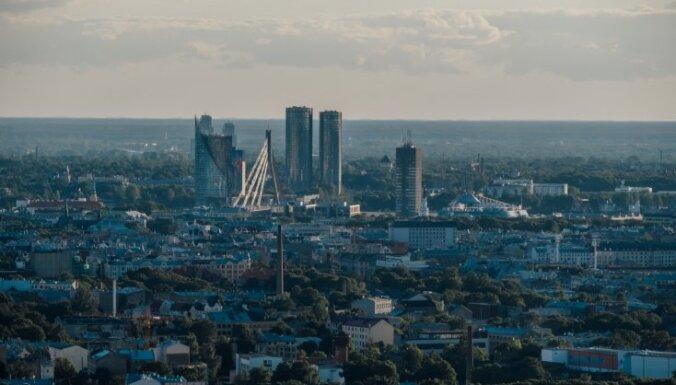 ФОТО. Лучший вид на этот город. Как выглядит вечерняя Рига с воздушного шара