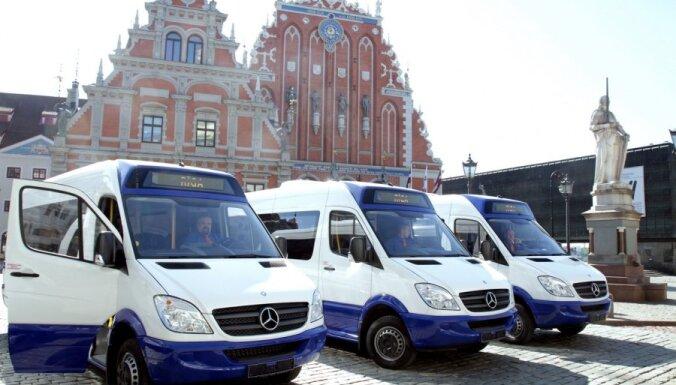 Маршрутки 209, 216 и 276 перешли к Rīgas mikroautobusu satiksme