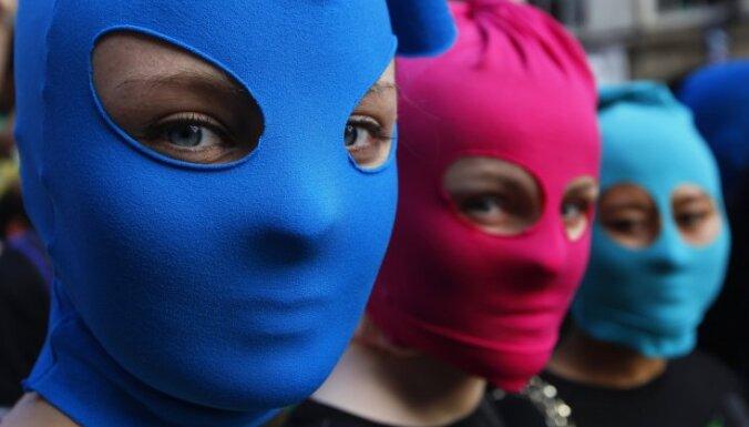 Алехина из Pussy Riot вышла на свободу по амнистии