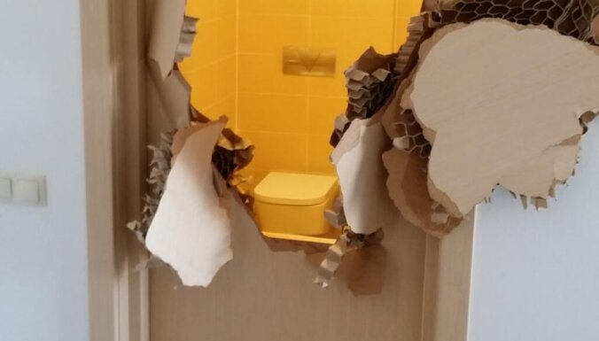 Бобслеист США застрял в ванне, пришлось выломать дверь