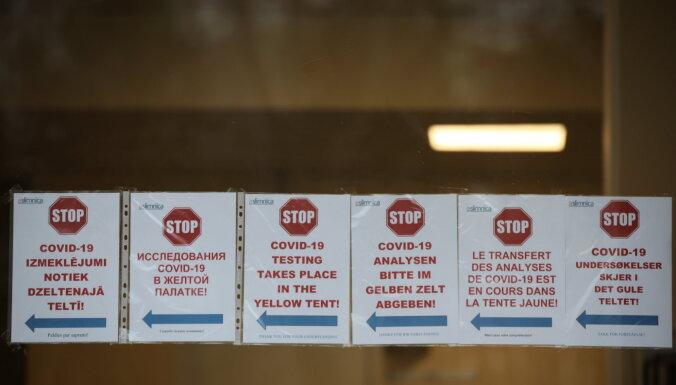 'Covid-19' sasirgšana Piņķos: policija uzsāk resorisko pārbaudi