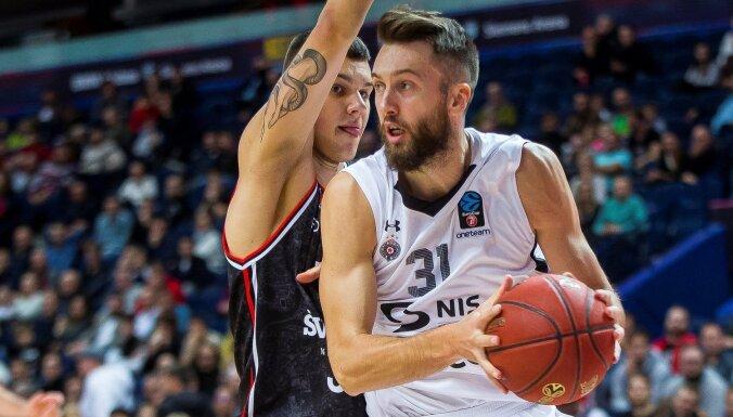 Peinera pārstāvētā 'Partizan' pieveic Helmaņa trenēto 'Rytas'