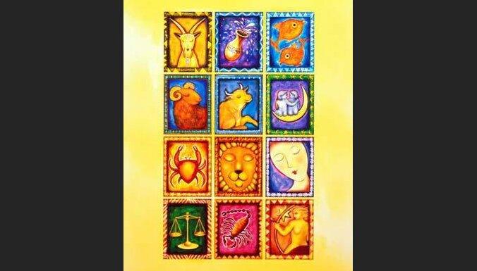 12 zodiaka zīmes