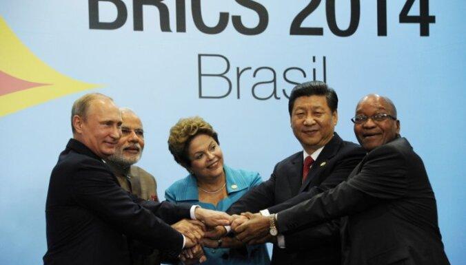 BRICS valstis vienojušās par attīstības bankas veidošanu