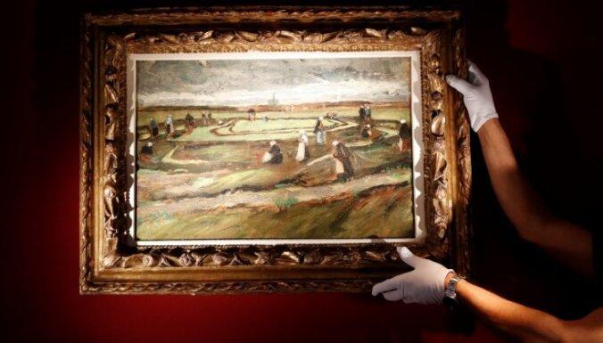 Agrīnu van Goga ainavu izsolē pārdod par septiņiem miljoniem eiro