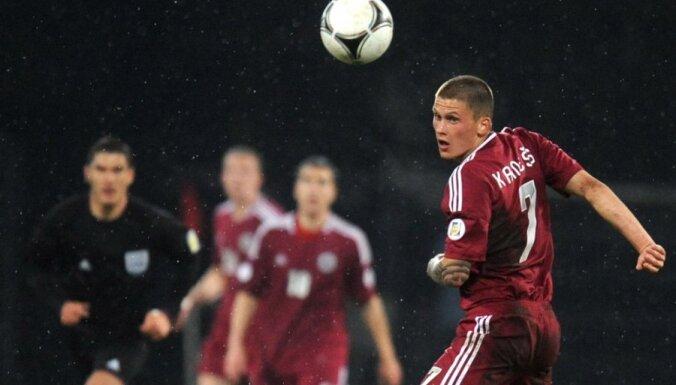 Форвард сборной Латвии продлил контракт с российский клубом на два года