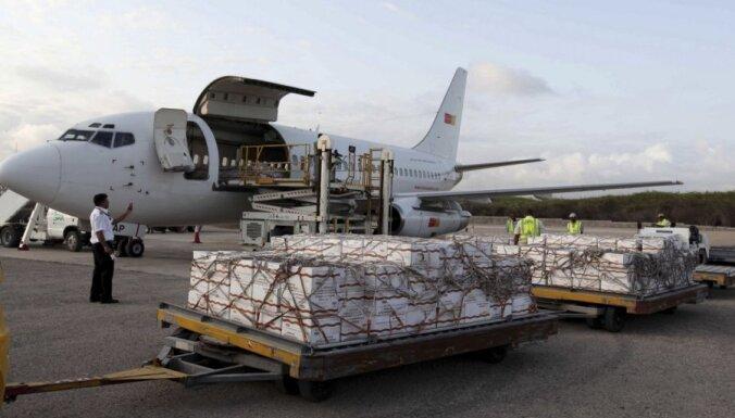 Bads Somālijā: ANO atklāj gaisa tiltu; Venecuēla nosūta 50 tonnas pārtikas