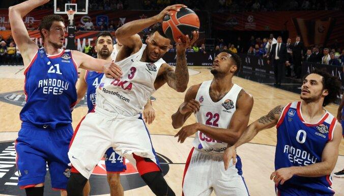 Latiševa tiesātā finālspēlē Maskavas CSKA atgriežas ULEB Eirolīgas čempionu tronī