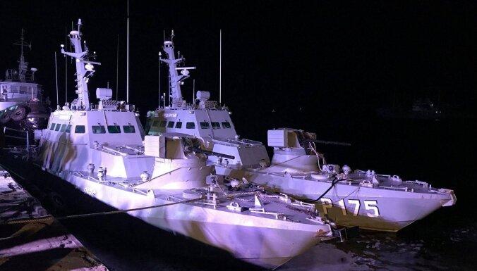 'Marodierisma pazīmes': Ukraina aprēķinājusi kaitējumu no Krievijas atgūtajiem kuģiem