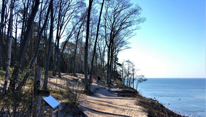 Foto: Dabas taka Lietuvā, kas ved gar seno Litorīnas jūras krasta krauju