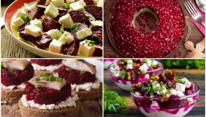 Sarkans, balts un atkal sarkans: 18 receptes valsts svētkiem
