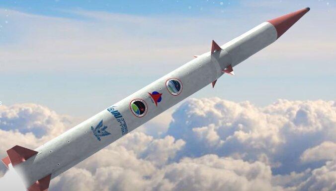 Izraēla kopā ar ASV sāk izstrādāt jaunu pretraķešu sistēmu 'Arrow-4'