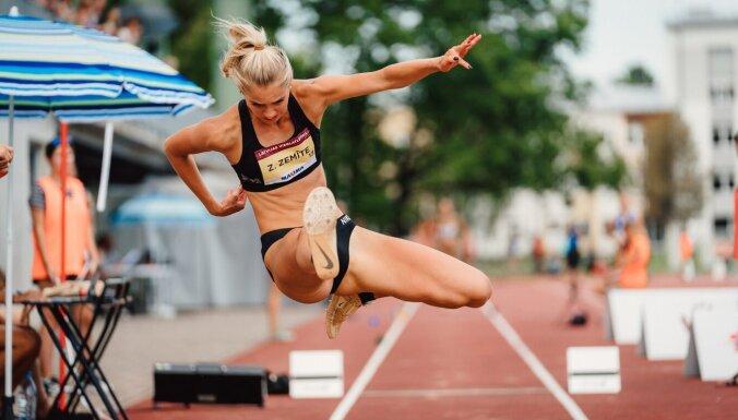 Foto: 99. Latvijas čempionāts vieglatlētikā Jelgavā