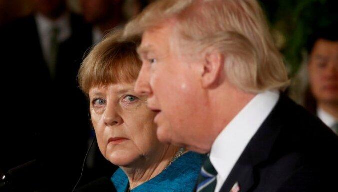 Меркель подчеркнула тесные отношения с США на фоне разногласий