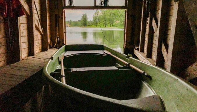 ФОТО. Лодочный домик на Алуксненском озере, в котором можно отлично отдохнуть