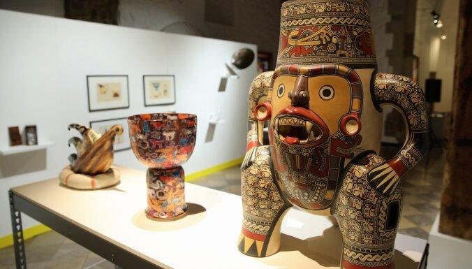Foto: Pirmais ieskats Dekoratīvās mākslas un dizaina muzeja jubilejas izstādē