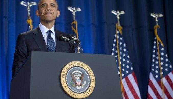 Obama brīdina Asadu nelietot ķīmiskos ieročus pret Sīrijas tautu