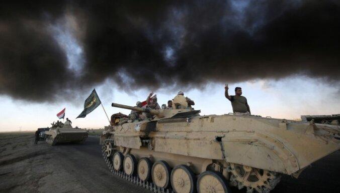 Irākas spēki atkaro džihādistiem Havīdžas centru
