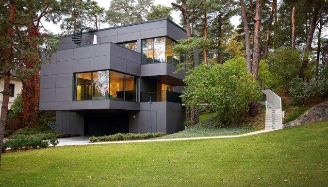 ФОТО: Частный дом в Юрмале, получивший Премию года в Латвийской архитектуре