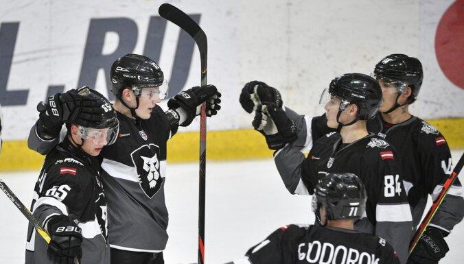 'Rīgas' hokejisti ar kārtējo uzvaru turpina dominēt MHL