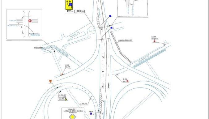При въезде на Островной мост будет отдельная полоса для общественного транспорта