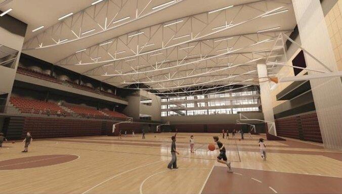 Komandu sporta spēļu halles celtniecībai Rīgā piešķirti 13,65 miljoni