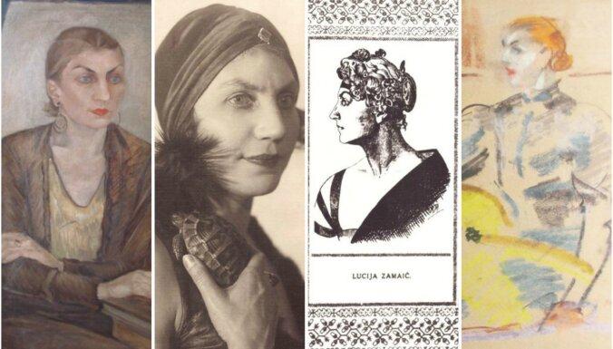 Atklās literātei Lūcijai Zamaičai veltītu izstādi