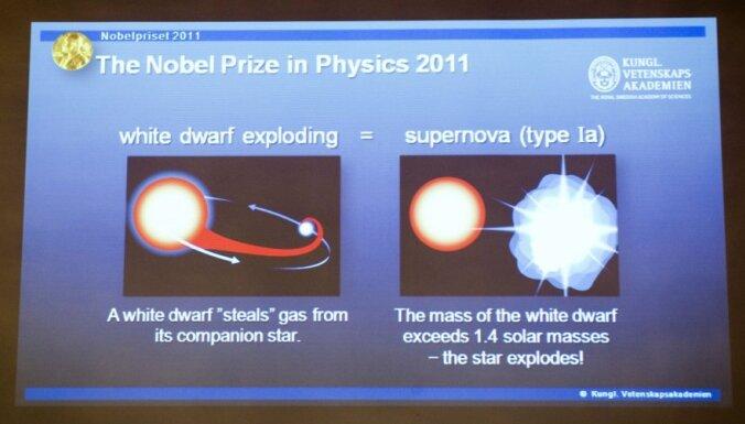 Nobela prēmiju fizikā piešķir visuma pētniekiem