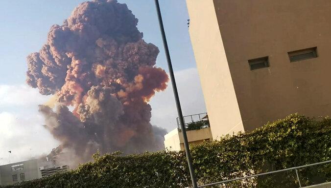 ФОТО, ВИДЕО: В порту Бейрута прогремели два мощных взрыва; десятки погибших