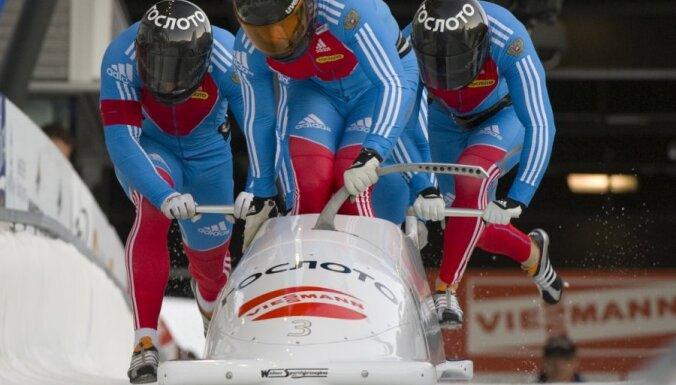 Этап в Парк-Сити выиграл россиянин, латвийский боб— в десятке