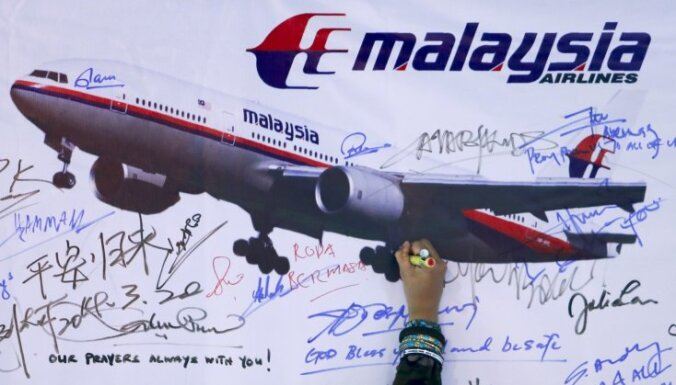 Madagaskarā un Austrālijā, iespējams, atrastas atlūzas no pazudušās MH370 lidmašīnas