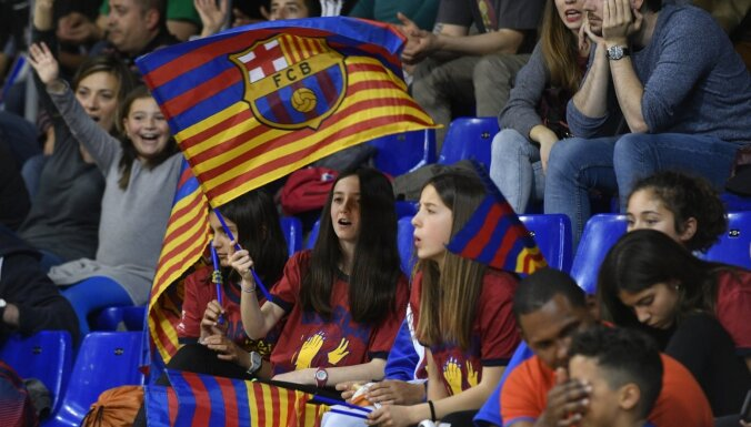 Šmitam un 'Barcelona' komandai zaudējums Spānijas Superkausa titula mačā