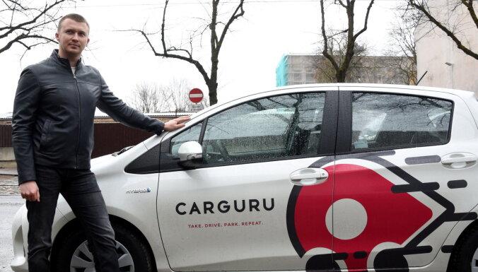 """Автопарк латвийского каршеринга Carguru """"взлетел"""" до 160 автомобилей"""