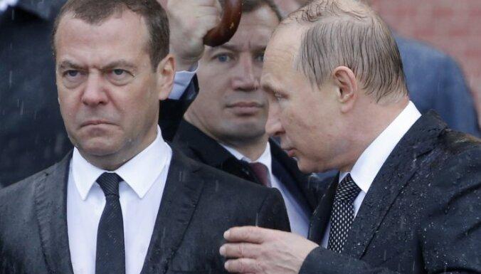 В 2018 году Путин заработал свыше 8 млн рублей, Медведев — на миллион больше