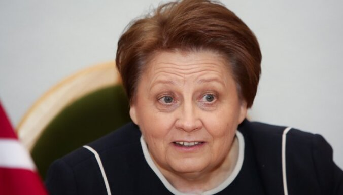 Лаймдота Страуюма не восстановила Юту Стрике в должности
