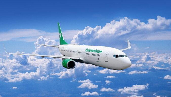 Turkmenistan Airlines временно отменяет прямой рейс Рига-Ашхабад (дополнено)
