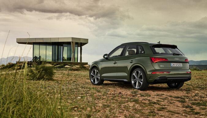 'Audi Q5' pirmais pasaulē ieguvis digitālos OLED aizmugurējos lukturus